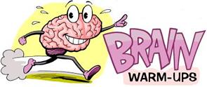 brain warm ups