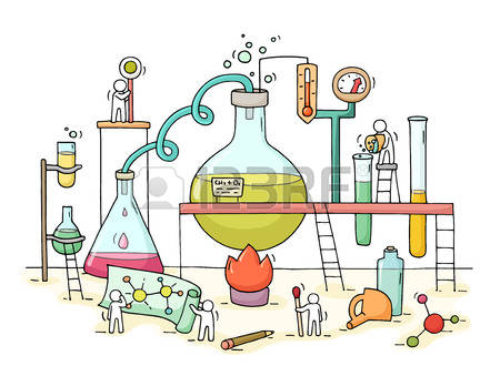 63716055-sketch-of-chemical-experiment-with-working-little-people-beaker-doodle-cute-miniature-of-teamwork-an